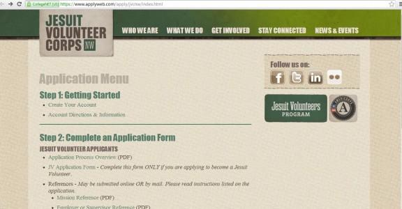 Application Blog Post Screen Shot