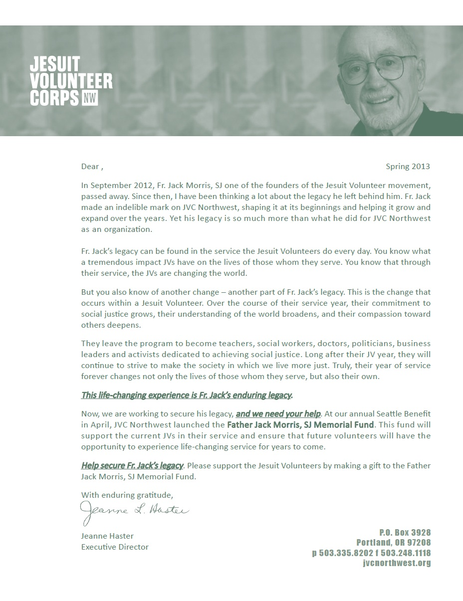 Jack Morris Fund Appeal Photo