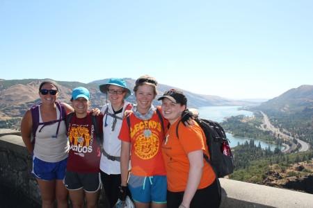 (Left to right) Kacie Black, Kelly Sullivan, Lynsey Spaeth, Marielle McKenna, Clare Black