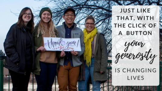 Jesuit Volunteer Thank You