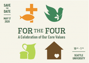 For the Four logo